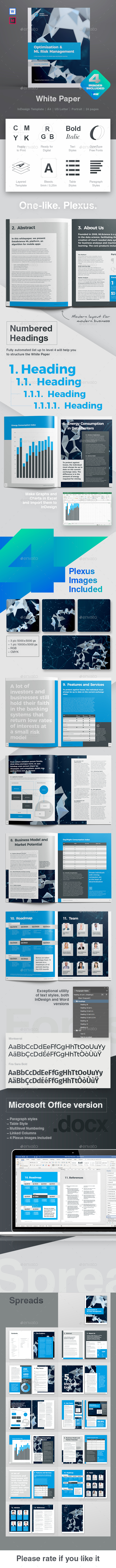White Paper Graphics Designs Templates From Graphicriver