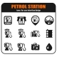 Petrol Station Icons Set - GraphicRiver Item for Sale
