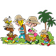 Cartoon Family Going on a Vacation - GraphicRiver Item for Sale