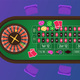 Casino Gambling Roulette Green Table Illustration - GraphicRiver Item for Sale