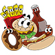 Cartoon Fast Food Character Designs - GraphicRiver Item for Sale