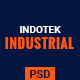 INDOTEK - Industrial, Industry & Manufacturing PSD Template - ThemeForest Item for Sale