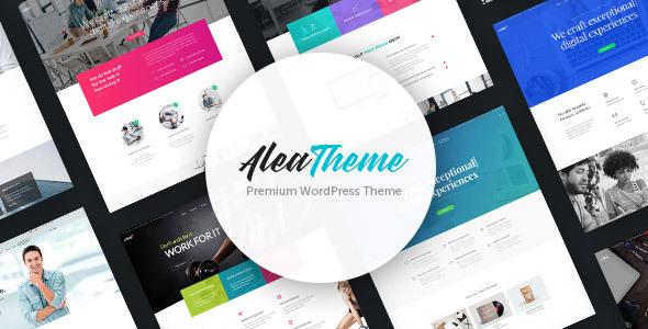 Alea - Business Multipurpose WordPress Theme