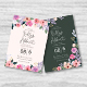 Flower Watercolor Wedding Invitation - GraphicRiver Item for Sale