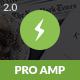 AMP Pro Mobile - ThemeForest Item for Sale