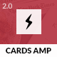 AMP Cards Mobile - ThemeForest Item for Sale