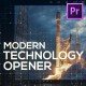 Technology Modern Opener for Premiere Pro - VideoHive Item for Sale