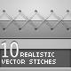 10 Realistic Stitches - GraphicRiver Item for Sale