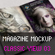 Magazine Mockup Classic View 03 - GraphicRiver Item for Sale