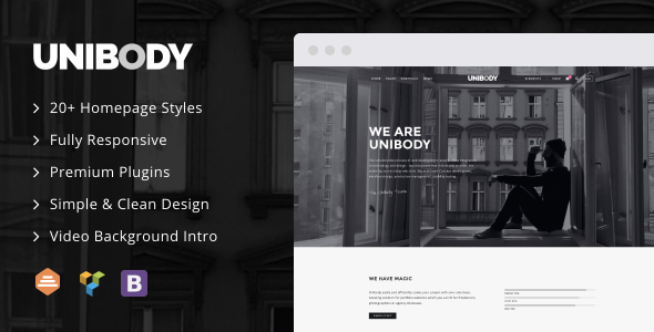 UniBody – Elegant Business WordPress Theme