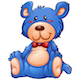 Blue Teddy Bear - GraphicRiver Item for Sale