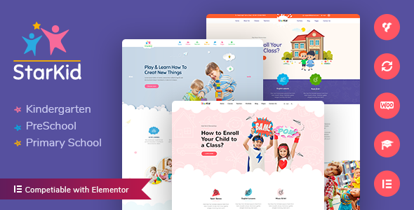StarKid | Kindergarten WordPress Theme