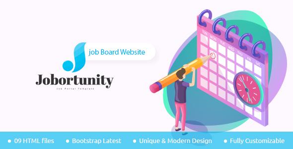 Jobortunity - Job Board HTML Template