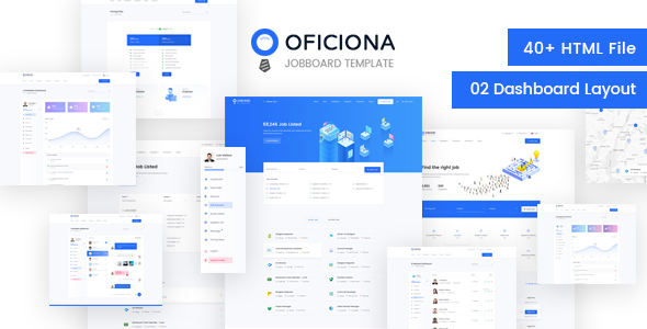 Oficiona - Job Board HTML Template