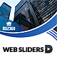 Web Sliders - GraphicRiver Item for Sale