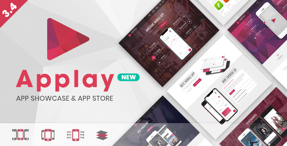 Applay - WordPress App Showcase & App Store Theme