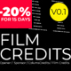 Film Credits And Movies Opener - VideoHive Item for Sale