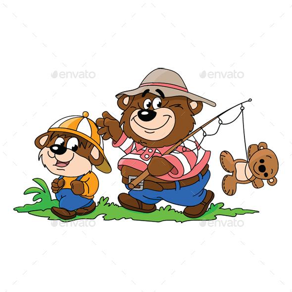 Cartoon Bears