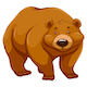 Brown Bear - GraphicRiver Item for Sale