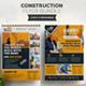 Construction Flyer Bundle 2 in 1 - GraphicRiver Item for Sale