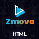 Zmovo - Online Movie Video And TV Show HTML Bootstrap 4 Template - ThemeForest Item for Sale