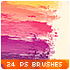 24 Stripes Trails Watercolor Photoshop Brushes #2 - GraphicRiver Item for Sale