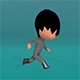 Stylised Low Poly Chibi - Animation Set - 3DOcean Item for Sale