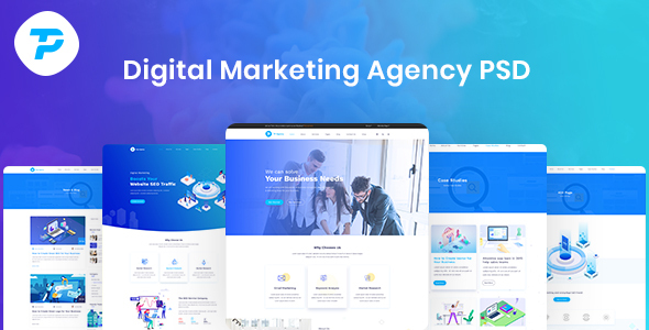 TP - Digital Agency PSD Template