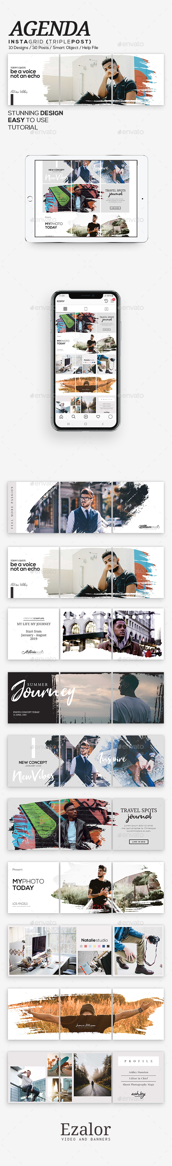 Grid Graphics, Designs & Templates from GraphicRiver