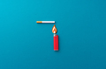Lighting a cigarette - PhotoDune Item for Sale