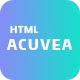 Acuvea - Responsive Multipurpose HTML Template - ThemeForest Item for Sale