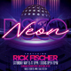 Neon Disco Party Flyer - GraphicRiver Item for Sale