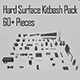 Hard Surface Kitbash Pack - 60+ Objects - 3DOcean Item for Sale