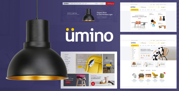 Umino - Furniture & Interior for WooCommerce WordPress