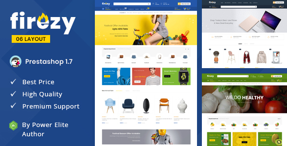 PrestaShop Themes from ThemeForest