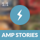 AMP Stories Mobile - ThemeForest Item for Sale