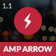 AMP Arrow Mobile - ThemeForest Item for Sale