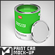 Paint Can Mock-Up - GraphicRiver Item for Sale