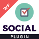 Professional WP Social Widget Plugin - CodeCanyon Item for Sale