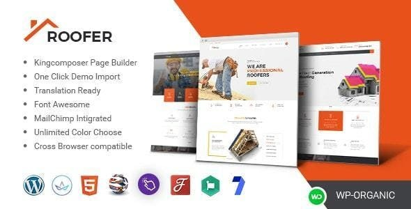 Chhapru - Roofing Service and Construction WordPress Theme