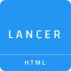 Lancer - Minimal Personal Portfolio Template - ThemeForest Item for Sale