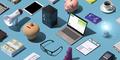 Business and finance desktop - PhotoDune Item for Sale