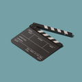 Clapperboard for cinema and filmmaking - PhotoDune Item for Sale