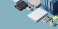 Professional business and finance desktop - PhotoDune Item for Sale