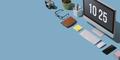 Contemporary business desktop - PhotoDune Item for Sale