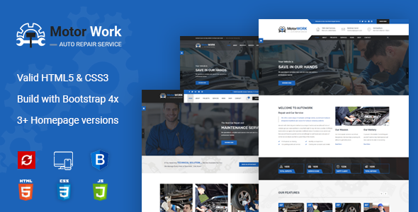 Motor Expert || Auto Mechanic & Car Repair HTML Template
