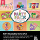 The Party Pack Packaging Mock Ups 5 - GraphicRiver Item for Sale