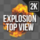 Explosion Top View 2 - VideoHive Item for Sale
