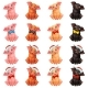 Set of Pigs with Bow and Cap - GraphicRiver Item for Sale