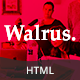 Walrus | Multi-Purpose Landing Page HTML Template - ThemeForest Item for Sale